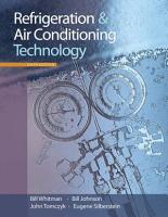 Refrigeration and Air Conditioning Technology PDF