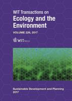 Sustainable Development And Planning Ix