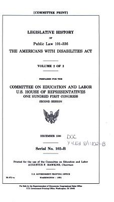 Legislative History of Public Law 101 336  the Americans with Disabilities Act PDF