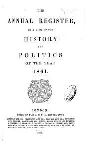 Annual Register: Volume 103