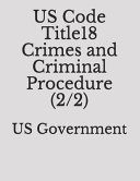 US Code Title18 Crimes and Criminal Procedure  2 2  PDF