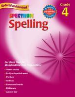 Spelling Grade 4