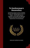 Ye Gentlewoman's Housewifery
