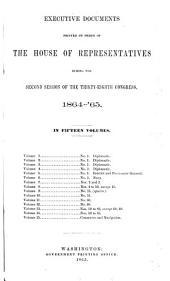 House Documents: Volume 8; Volume 207
