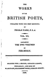 The Poetical Works of James Thomson: Collated with the Best Editions: