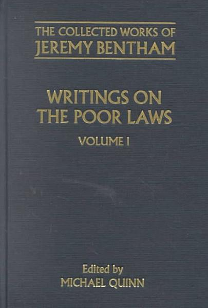Download Writings on the Poor Laws Book