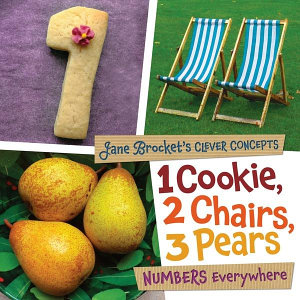 1 Cookie, 2 Chairs, 3 Pears Book