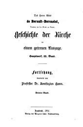 Geschichte der Kirche Christi im neunzehnten Jahrhundert, mit besonderer Rücksicht auf Deutschland: Band 3