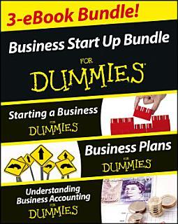 Business Start Up For Dummies Three e book Bundle  Starting a Business For Dummies  Business Plans For Dummies  Understanding Business Accounting For Dummies Book