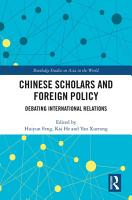 Chinese Scholars and Foreign Policy PDF