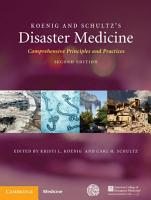 Koenig and Schultz s Disaster Medicine PDF