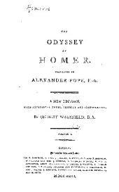 The Odyssey of Homer: Volume 1