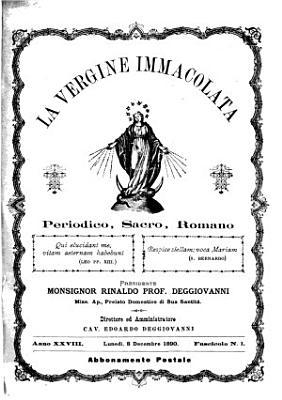 La vergine immacolata periodico sacro romano PDF