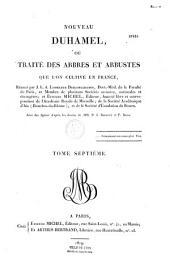 Traité des arbres et arbustes, que l'on cultive en pleine terre en France, par Duhamel