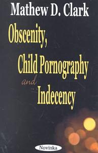 Obscenity  Child Pornography and Indecency Book