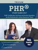 PHR Study Guide 2017 PDF