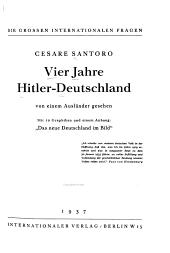 Vier Jahre Hitler Deutschland  von einem Ausl  nder gesehen PDF