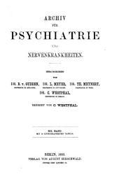Archiv für Psychiatrie und Nervenkrankheiten: Band 12