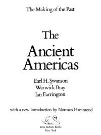 The Ancient Americas PDF