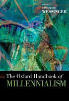 The Oxford Handbook of Millennialism PDF