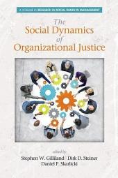 The Social Dynamics of Organizational Justice