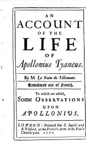 An Account of the Life of Apollonius Tyaneus