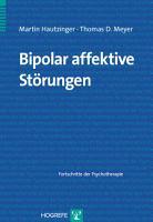Bipolar affektive St  rungen PDF