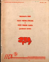 Bibliografia Sobre Peste Porcina Africana Y Peste Porcina Clasica PDF