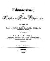 Urkundenbuch zur Geschichte des Landes Dithmarschen