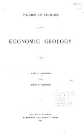 Syllabus of Lectures on Economic Geology