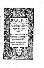 Schola Apitiana, ex optimis auctoribus constructa