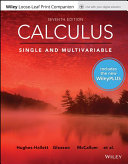 Calculus Single and Multivariable with Loose Leaf Print Companion