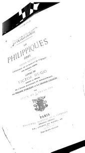 Les Philippiques: odes