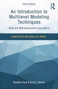 An Introduction to Multilevel Modeling Techniques PDF