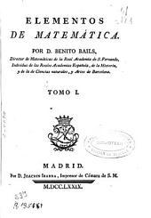 Elementos de matemáticas ...: Volumen 1