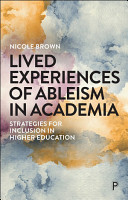 Lived Experiences of Ableism in Academia PDF