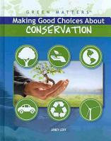 Making Good Choices About Conservation PDF