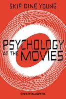 Psychology at the Movies PDF