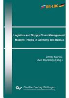 Logistics and Supply Chain Management  Modern Trends in Germany and Russia PDF