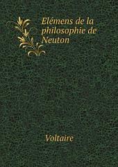 El?mens de la philosophie de Neuton