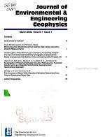 Journal of Environmental   Engineering Geophysics PDF