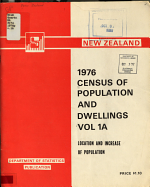 1976 Census of Population and Dwellings  Census of population and dwellings  1976 PDF