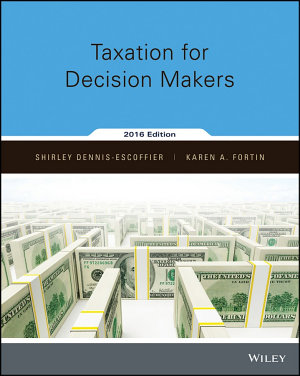 Taxation for Decision Makers  Binder Ready Version