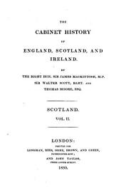 The cabinet history of England, Scotland and Ireland: Volume 2