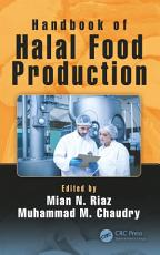 Handbook of Halal Food Production PDF