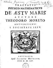 Tractatus physico-mathematicus de aestu mari