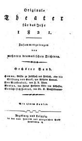Originaltheater: für das Jahr ... 1821, 6