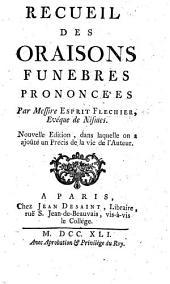 Sermons de morale prêchez devant le Roy, par M. Fléchier ... Avec ses discours synodaux, & autres sermons prêchez à l'ouverture des États de Languedoc, & dans sa Cathédrale