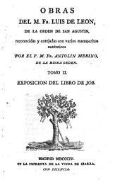 Obras: Exposicion del libro de Job ; [2], Volumen 2