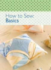 How to Sew - Basics
